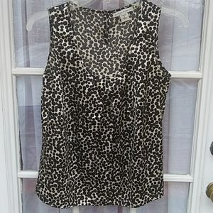 Banana Republic thin silk / spandex sleeveless top